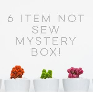 6 item not so mystery box for resellers